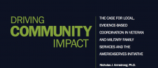 A case for greater coordination and collective impact among veteran service providers in communities