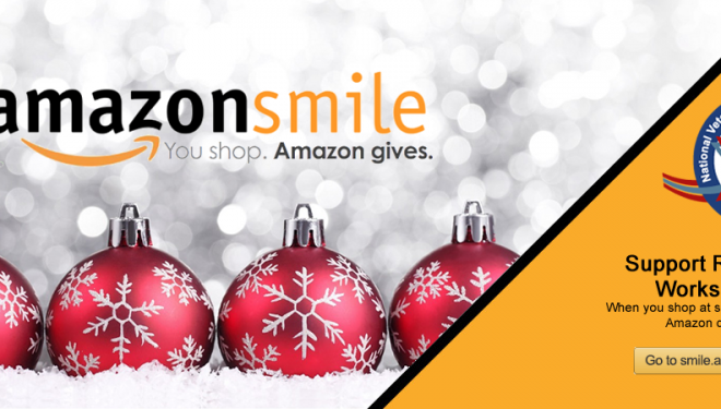 Shop on AmazonSmile over the Holidays and Seamlessly Donate to REBOOT