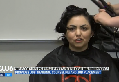 "Local program helps female veterans ""Reboot"" for civilian workforce"