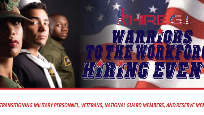 Warriors to the Workforce Hiring Event